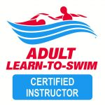 Adult Learn to Swim certified instructor