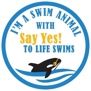 Swim Animal Badge