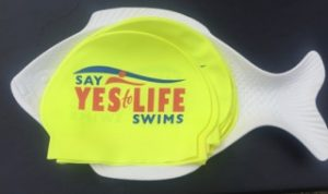 Branded swim caps